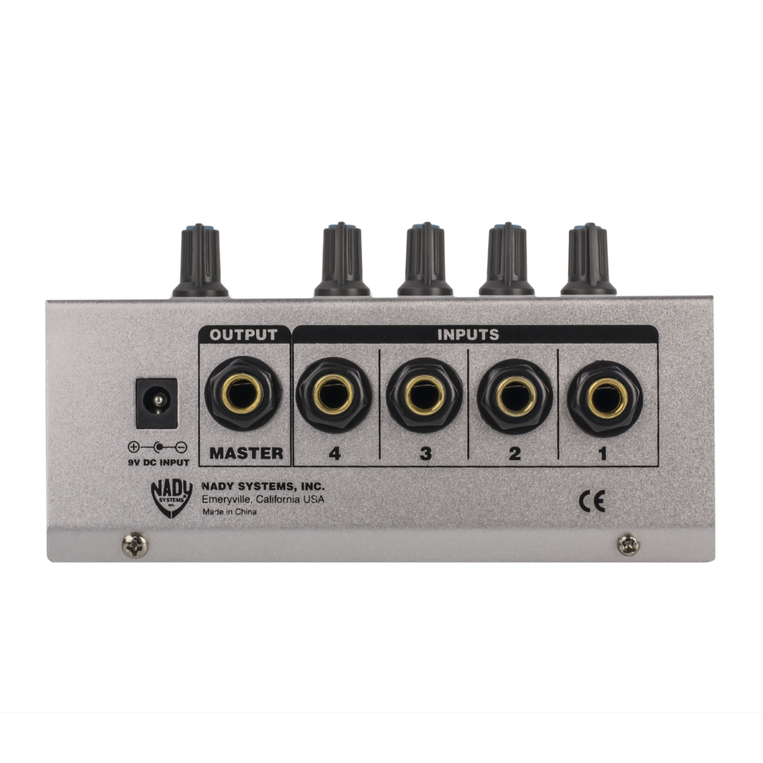 Mm 141 4 Channel Mini Mixer Nady Systems Inc