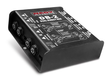 Nady DB-2 Dual Passive Direct Box