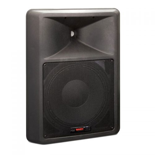 Nady PCS-15 Full-Range, Two-Way Powered Speaker With 15″ Woofer