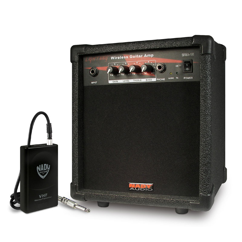 wga 15 wireless guitar amplifier nady systems inc. Black Bedroom Furniture Sets. Home Design Ideas