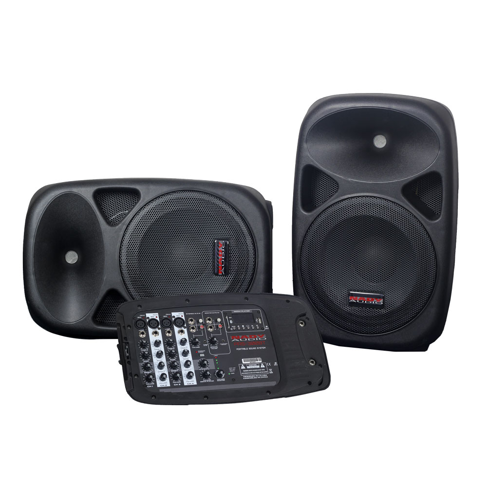 Nady PAS-300BT Portable PA System Speakers