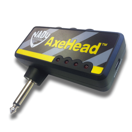 Nady AxeHead™ Mini Headphone Guitar Amp