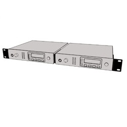 Nady RKT-21 Dual (Side-By-Side) Rackmount Kit For Two PEM-1000 Receivers