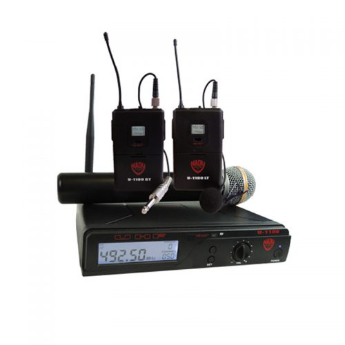 Nady U-1100 UHF 100-Channel Wireless System