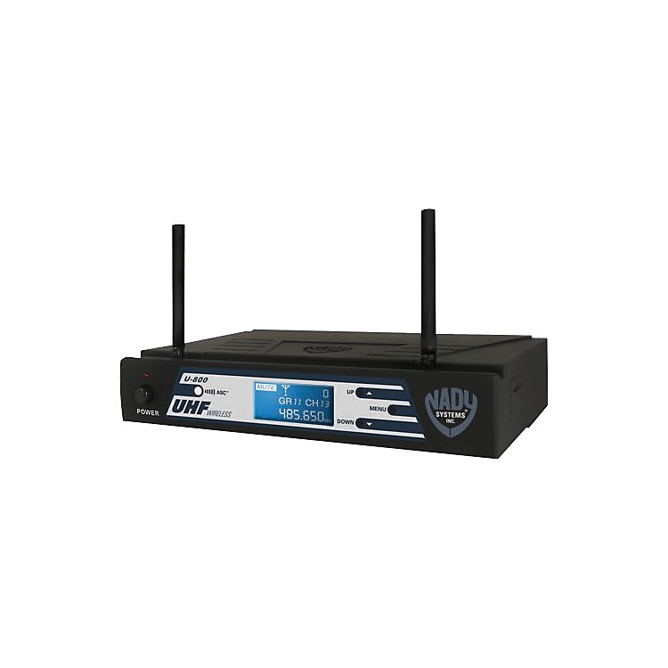Nady U-800 PLL Synthesized 800-Channel UHF Wireless System