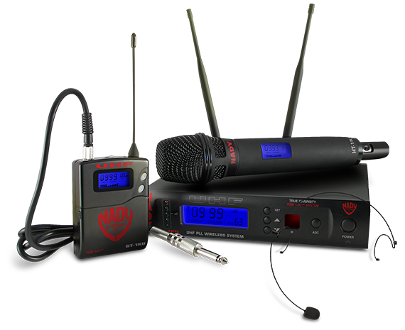 Nady W-1KU Single UHF Reciever Wireless System